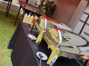 Hire Mongolian Grills, Roll Top Chafers, Gazebo's
